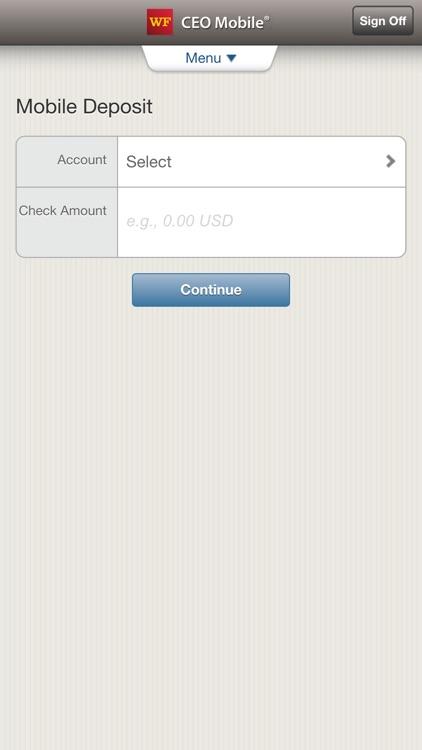 Wells Fargo CEO Mobile screenshot-3