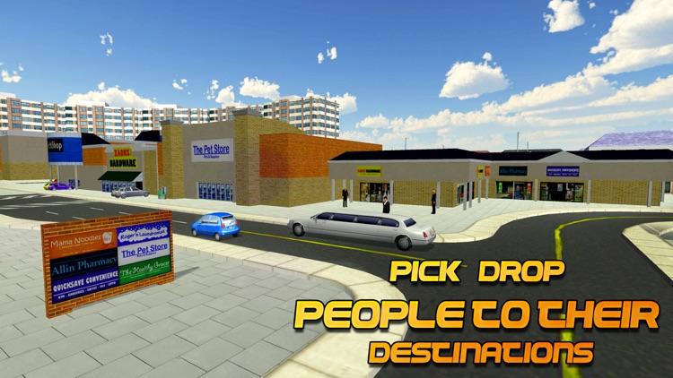 Limo Driver Simulator - 3D City Limousine driving screenshot-3