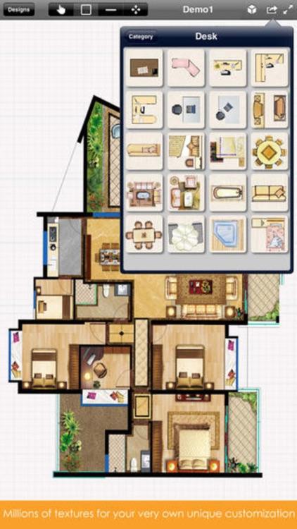 Home Plan - Interior Design & Floor Plan screenshot-3