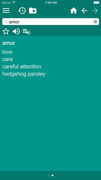 English-Spanish Dictionary screenshot-3