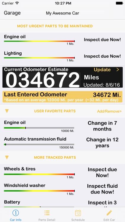 ServiceAlert - Car Maintenance