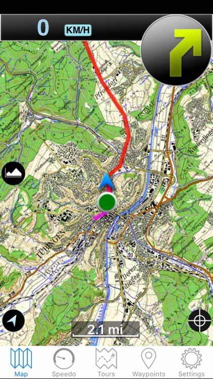 Scout Outdoor-Navigation for Biking and Hiking