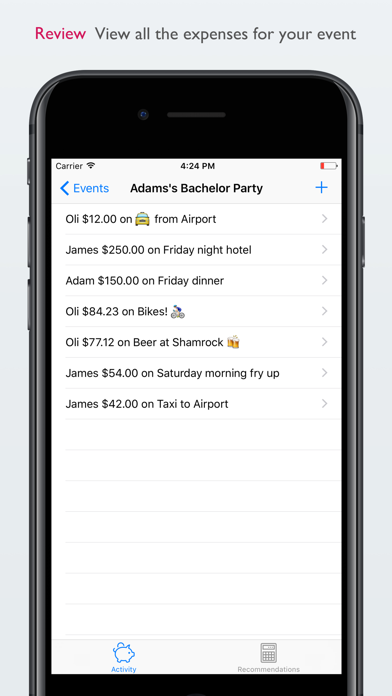 Even Steven - Group Expenses Tracker