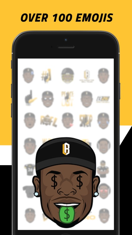 Le'Moji - Official Le'Veon Bell Emoji Keyboard screenshot-1