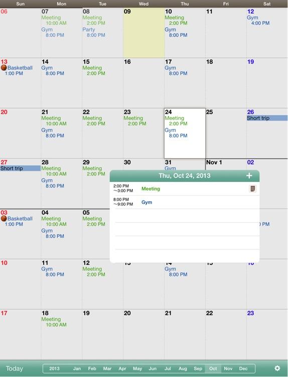 Monthly Calendar Mocahd By Aill K K Jp