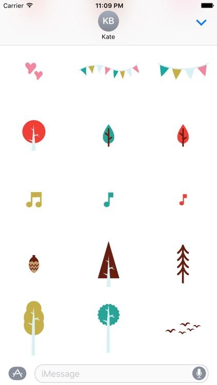 Scandi Kinder 45+ Stickers