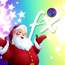 Christmas Star Bokeh Photo Effects Studio