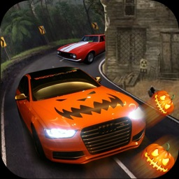 Halloween Party City Car Driver 3D