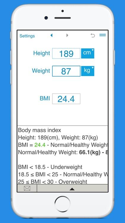 Smart BMI Calculator
