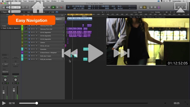 FastTrack™ For Logic Pro Scoring to Picture