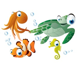 Sea Life Big Eyes Collection Stickers Mania
