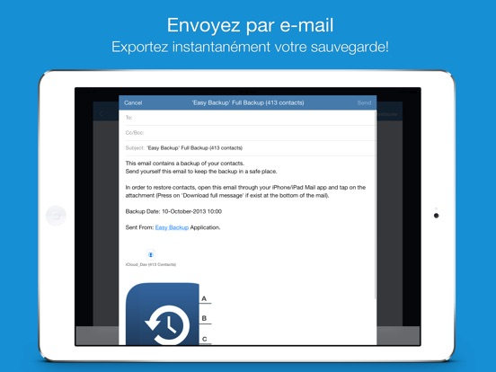 Screenshot #5 pour Easy Backup  Pro