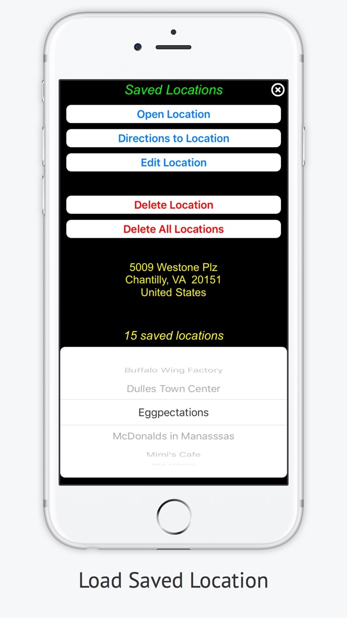 iMapMe -  Keep Track of All Your Favorites Places Screenshot