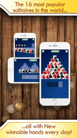 Solitaire Deluxe® Pro - Classic, Spider, more screenshot for iPhone