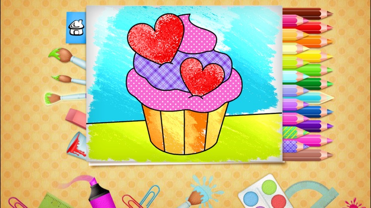 123 Kids Fun COLORING BOOK Outline Drawing Images screenshot-2