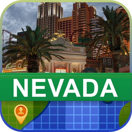 Offline Nevada, USA Map - World Offline Maps