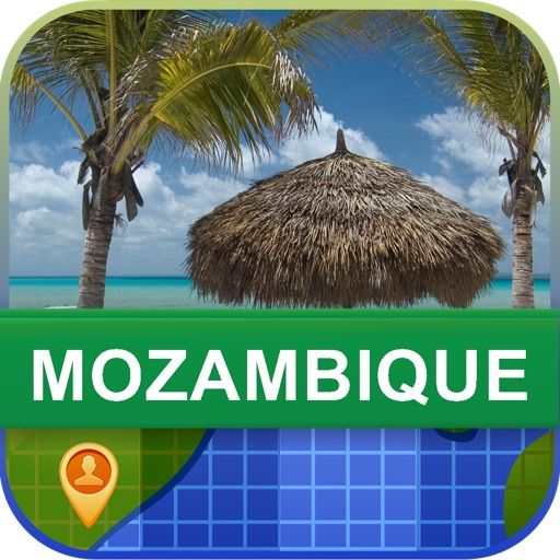 Offline Mozambique Map - World Offline Maps