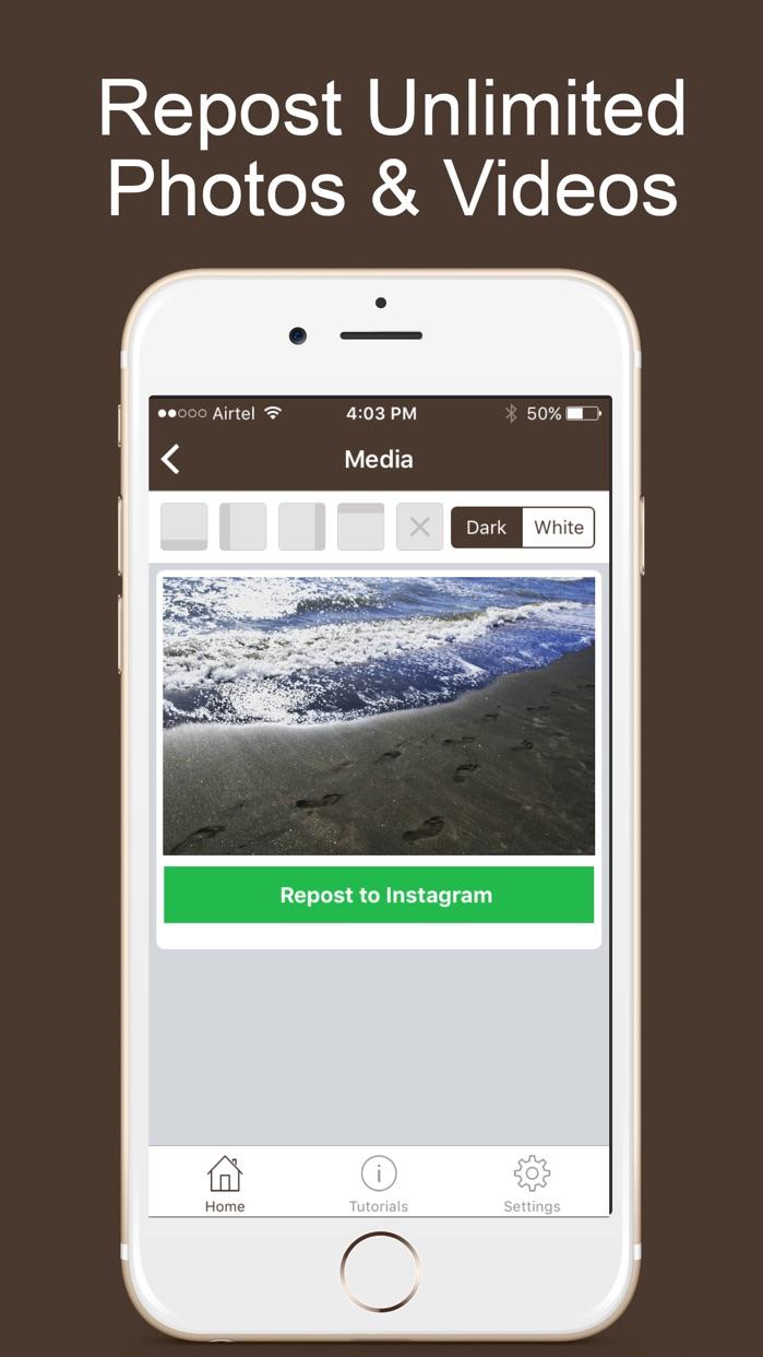 Repost for Instagram - Repostly Screenshot
