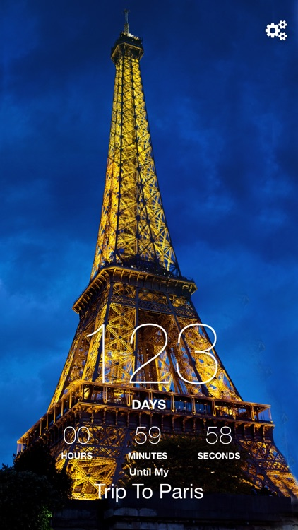 Paris Trip Countdown screenshot-0
