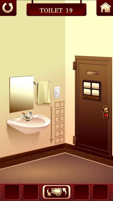 """脱出ゲーム """"100 Toilets""""~謎解き推理脱出ゲーム~ ScreenShot3"""
