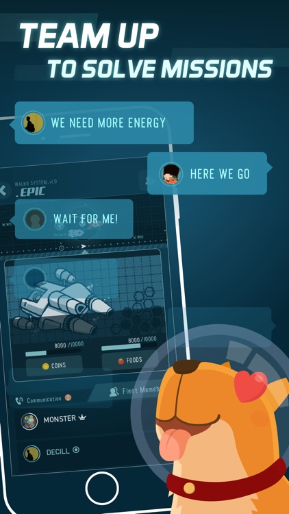 Walkr - Galaxy Adventure in Your Pocket screenshot-3