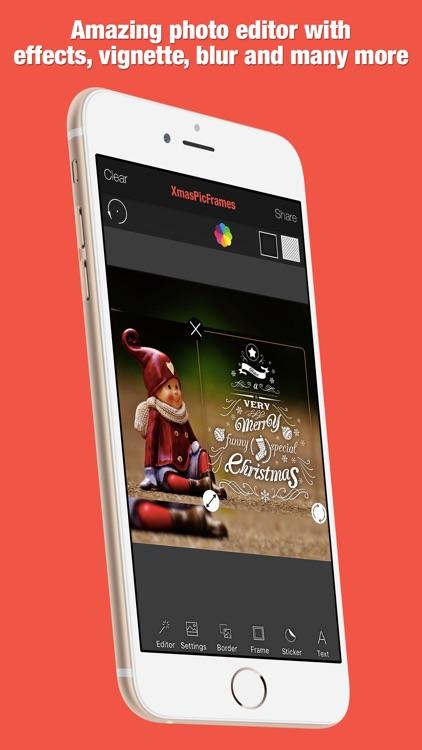 XmasPicFrames – Christmas & New Year Photo Frames screenshot-3