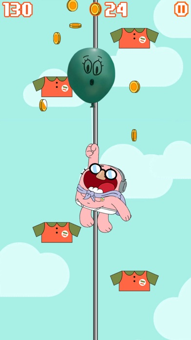Sky Streaker - Gumball Climbing Arcade Game screenshot two