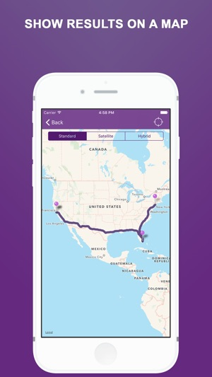 Pin points flight driving distance calculator on the app store pin points flight driving distance calculator on the app store gumiabroncs Choice Image