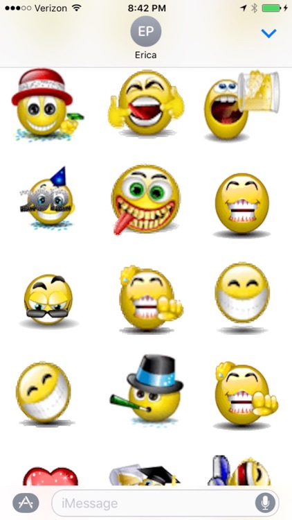 Animated Smileys for iMessages screenshot-1