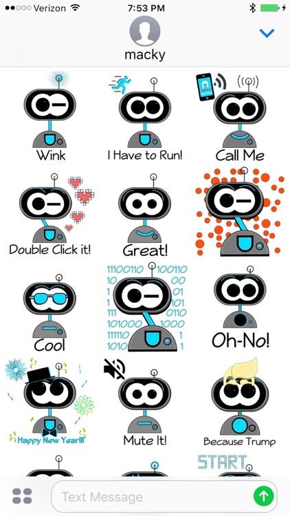Macky Stickers