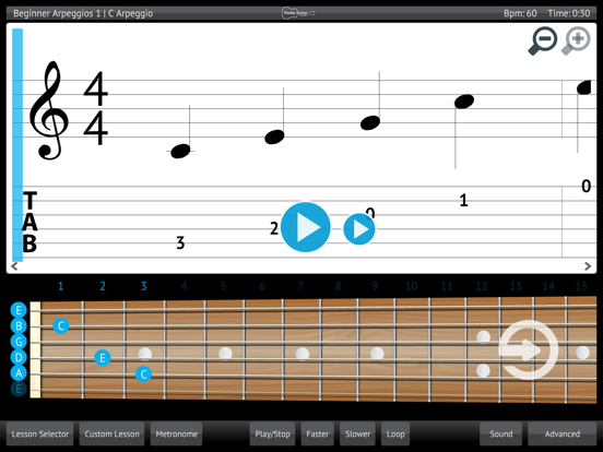 Learn & Practice Acoustic Guitar Lessons Exercises screenshot one