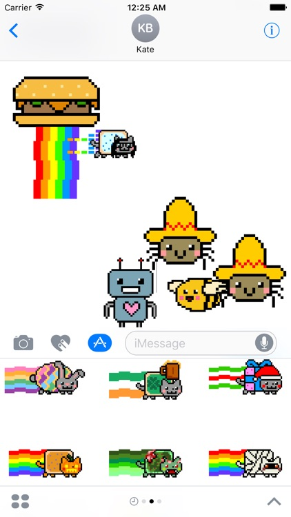 Nyan Cat Stickers! screenshot-4