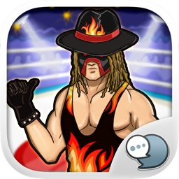 Wrestlers Emoji Stickers Keyboard Themes ChatStick