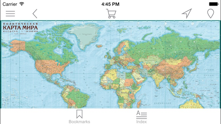 World Political map by AGT Geocentre
