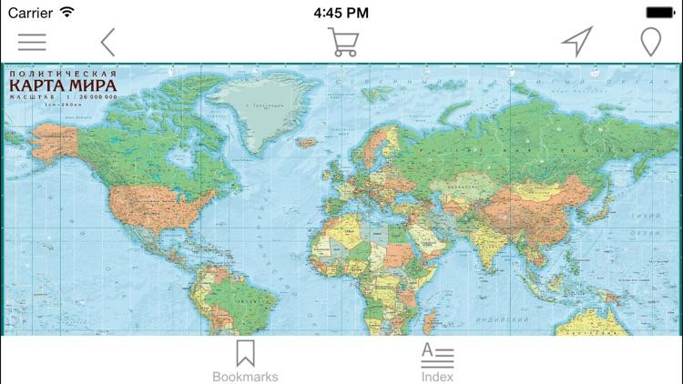 World. Political map