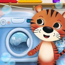 Messy Pets Daycare Washing Laundry