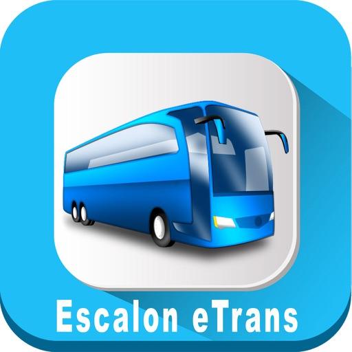 Escalon eTrans California USA where is the Bus