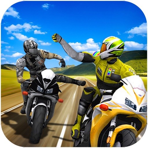 Heavy Bike Rider : 3D Fighting Game