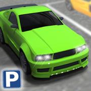 多层停车场停车的3D模拟器 - 多层次停车场挑战游戏