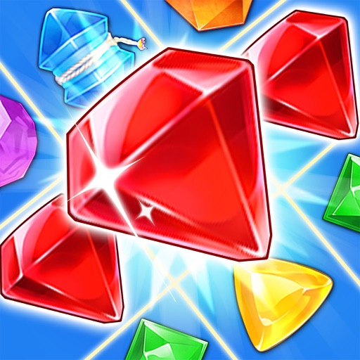 Jewel Crush - Blast diamond and drop cookie pop