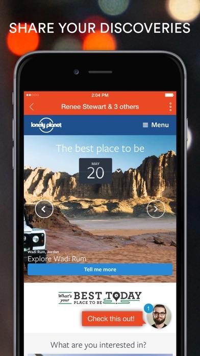 Screenshot 2 for StumbleUpon's iPhone app'