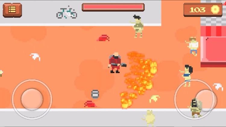 Pixel Zombie Shooting Game screenshot-3
