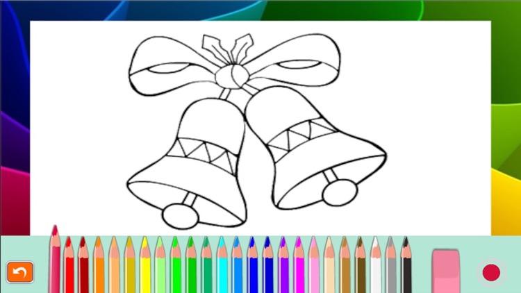 Santa Claus Christmas coloring book! For kids screenshot-4
