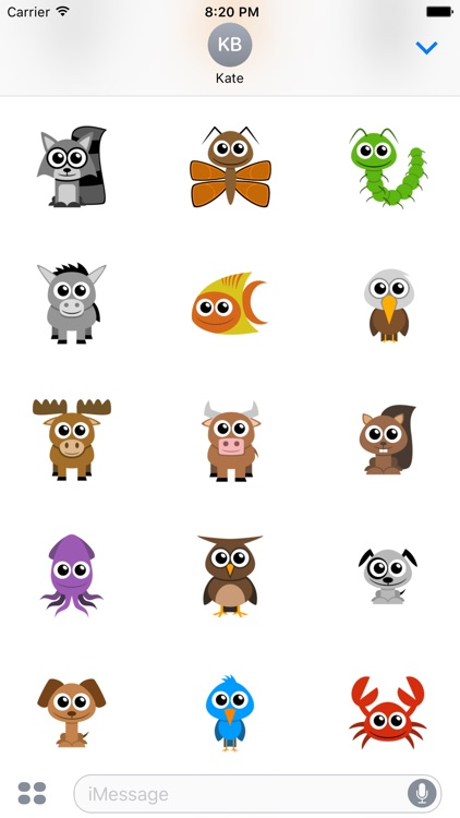 Adorable Animal Stickers