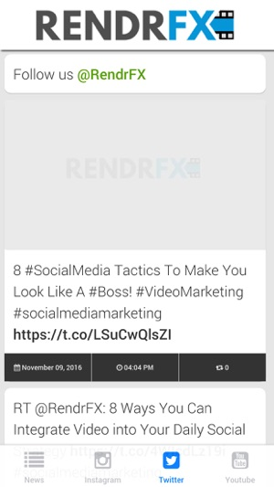 RENDRFX on the App Store