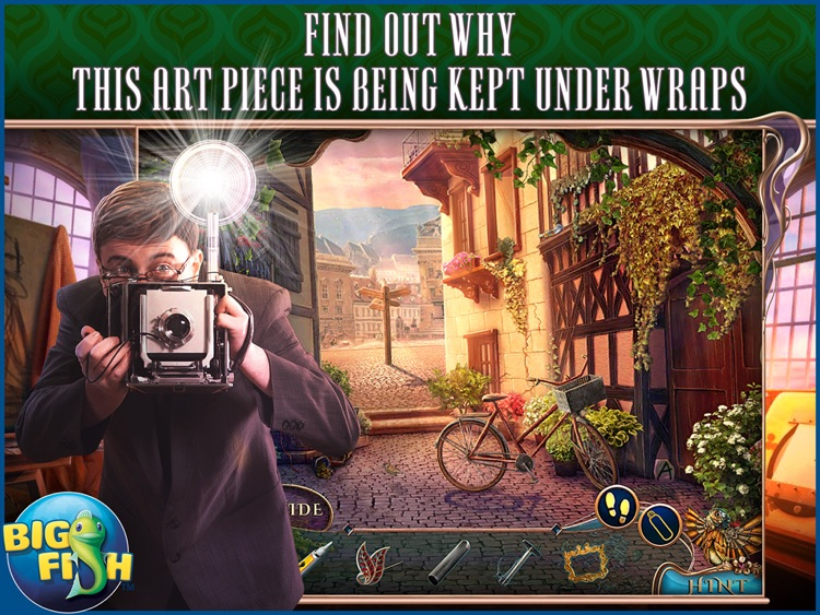 Off The Record: The Art of Deception HD - A Hidden Object Mystery (Full) screenshot-0