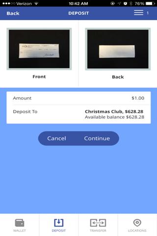 JCFCU Mobile - náhled