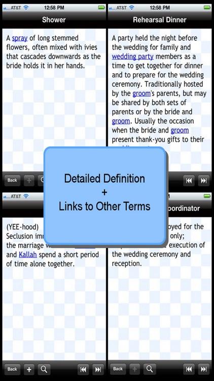 The Wedding Glossary