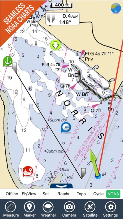 Boating USA HD Nautical Charts