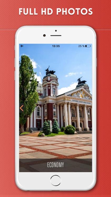 Sofia Travel Guide with Offline City Street Map